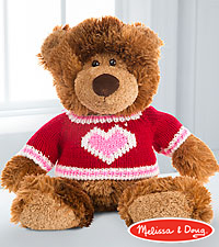 Melissa and Doug Love and Hugs Plush Bear